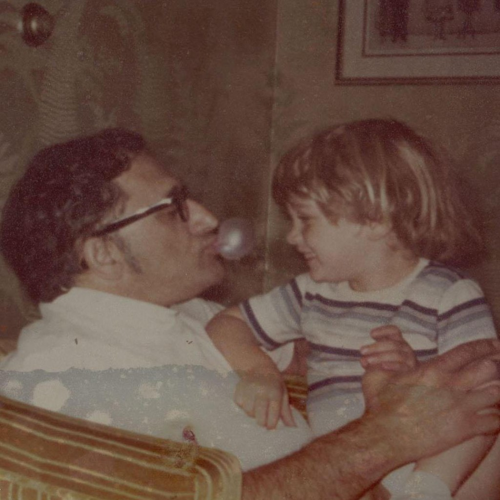 One of my favorite pictures ever, me and my grandpa circa 1978.